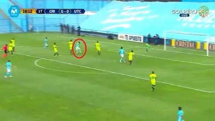 Triangulación, taco y definición: Gabriel Costa anotó golazo para Sporting Cristal