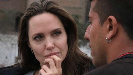 Angelina Jolie en Lima: Imágenes oficiales del encuentro de la actriz con los migrantes venezolanos [FOTOS]
