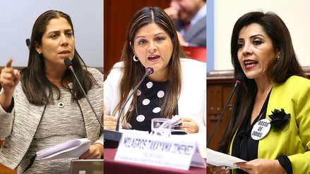 Letona, Aramayo y Beteta ponen sus cargos a disposición como voceras de Fuerza Popular