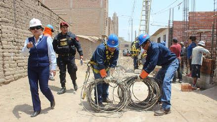 Ensa y la fiscalía retiraron cableado de conexiones clandestinas de cinco sectores