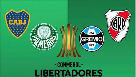 Copa Libertadores 2018 EN VIVO: fecha, hora y canales de transmisión de las semifinales