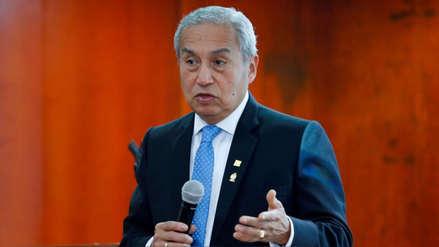 Pedro Chávarry se presenta este lunes ante la Comisión de Justicia por fuga de Hinostroza