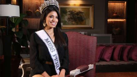 Anyella Grados reapareció tras perder la corona de Miss Perú: