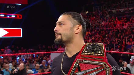 WWE RAW: Roman Reigns sufre de leucemia y renuncia al título universal