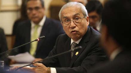 Fiscal de la Nación respondió por fuga de César Hinostroza ante la Comisión de Justicia