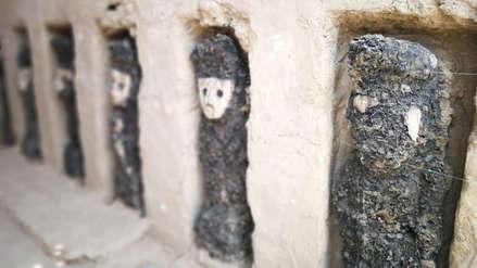 Chan Chan | Hallan decoración mural y hornacinas con ídolos de madera