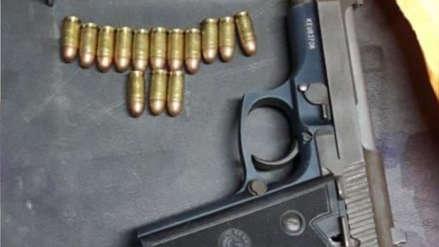 Áncash | Policía fue detenido por empeñar su arma a 800 soles