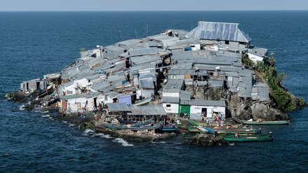 Esta minúscula isla es uno de los lugares más poblados del mundo