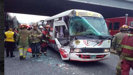 Municipalidad de Lima suspendió la licencia del 'Chosicano' tras accidente