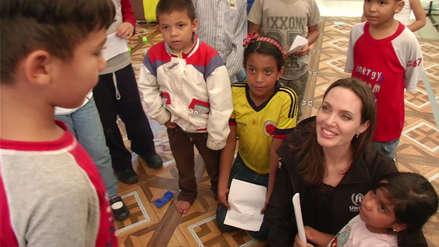 Angelina Jolie: Su encuentro con inmigrantes venezolanos en Tumbes al detalle [VIDEO]