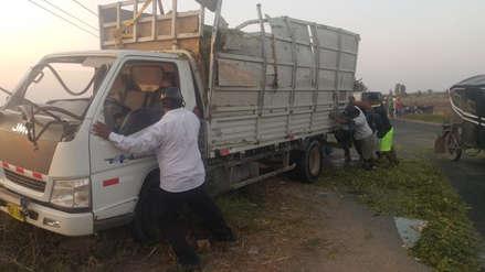 Chiclayo: accidente en Ferreñafe dejó tres personas heridas