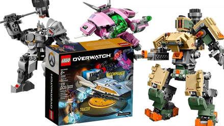 Galería | Cadena de tiendas filtra accidentalmente sets LEGO de Overwatch