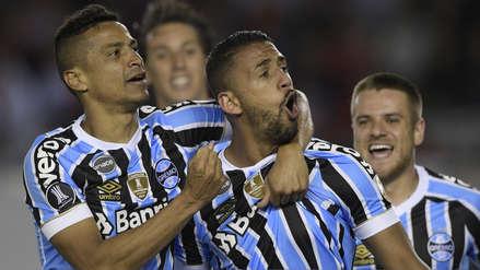 Gremio derrotó 1-0 a River Plate en la ida de la semifinal de la Copa Libertadores
