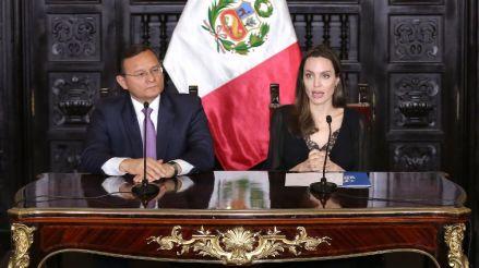 """Angelina Jolie: """"Los venezolanos que conocí en Perú no quieren caridad, quieren oportunidades"""""""