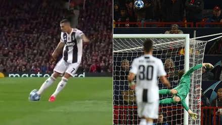 El potente derechazo de Cristiano Ronaldo que provocó la genial tapada de De Gea