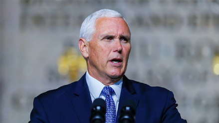 Pence acusó a Venezuela de financiar caravana de migrantes hondureños que van a EE.UU.