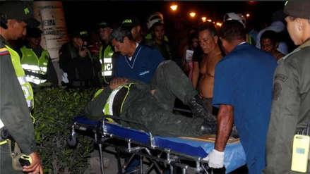 Doce policías heridos tras ser arrollados por un vehículo en Bolivia