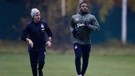 Jefferson Farfán volvió a los entrenamientos del Lokomotiv