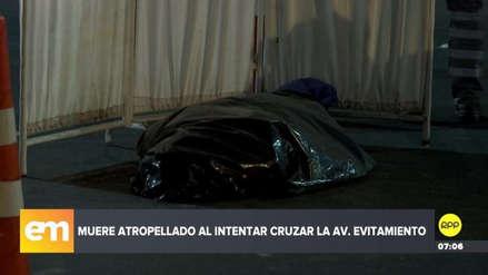 Un hombre murió arrollado por dos automóviles en la Vía de Evitamiento