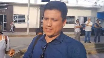 Periodista querellado por congresista de Fuerza Popular denuncia que policías no le devuelven sus cosas