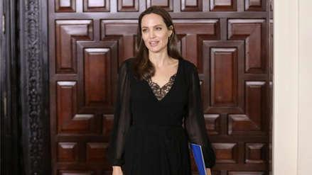 Las postales que dejó la visita de Angelina Jolie en Palacio de Gobierno