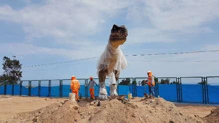 Invierten tres millones de soles en un parque temático de Dinosaurios en Mollendo