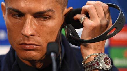 Cristiano Ronaldo se lució con un reloj valorizado en 2 millones de euros