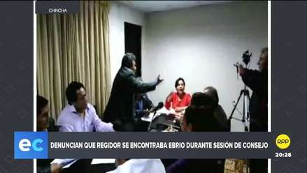 Chincha   Alcaldesa denuncia que regidor le increpó en estado de ebriedad durante sesión