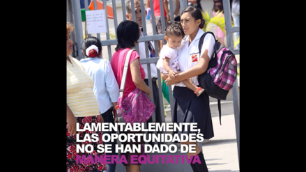 La educación es un derecho fundamental de todo ser humano y es inherente al género