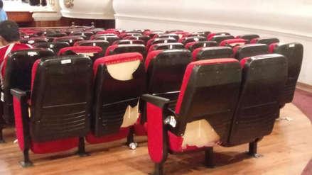 Critican mal estado del Teatro Municipal de Trujillo