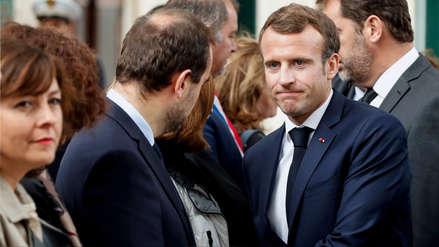 Un profesor fue detenido por acosar por teléfono a Macron