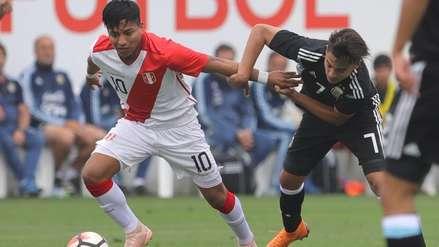Selección Peruana Sub-17 igualó 0-0 con Argentina en nuevo amistoso internacional