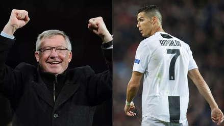 El emotivo reencuentro entre Cristiano Ronaldo y Alex Ferguson en Manchester