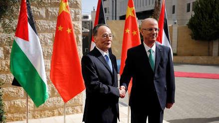 China y Palestina inician negociaciones para un acuerdo de libre comercio