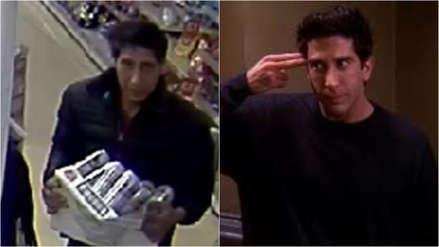 Policía fue objeto de burlas por buscar a un ladrón parecido a Ross de 'Friends'