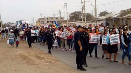 Tras protesta reprograman desalojo de cientos de familias en Chepén