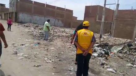 Nuevo botadero de basura se instaló en Pueblo Joven de La Victoria