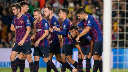 Barcelona superó su primera prueba sin Lionel Messi al ganar 2-0 a Inter en la Champions