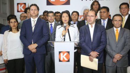 Chats de 'La Botica' muestran las directivas de Keiko Fujimori a congresistas de Fuerza Popular