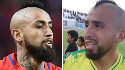 Arturo Vidal en Copa Perú: Conoce al doble del chileno que juega en Barcelona