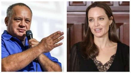 El chavismo sobre Angelina Jolie: