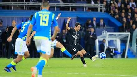 ¡Golazo! La perfecta definición de Ángel Di María para evitar la derrota del PSG