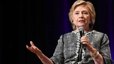 Hillary Clinton asegura que EE.UU. vive