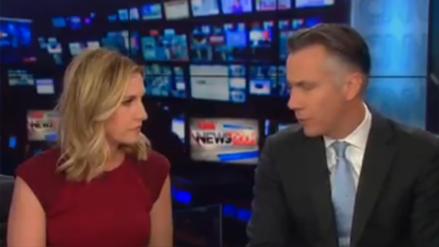 Video | El momento en que CNN corta su transmisión por alerta de paquete sospechoso