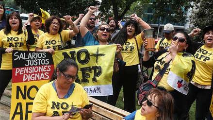 Protesta en Chile por las