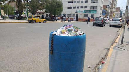 Obreros del municipio de Chiclayo no recogieron basura por falta de pagos