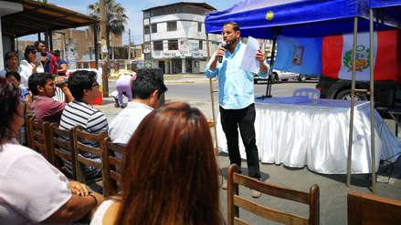 Ex candidato a la alcaldía de Víctor Larco insiste en fraude