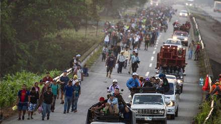 Gobierno de Trump anuncia envío de tropas a frontera para frenar caravana de migrantes