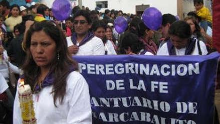 Centenares de fieles del Amito de Marcabalito  parten en peregrinación