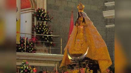 Fieles celebran 75 años de coronación de Virgen de la Puerta de Otuzco